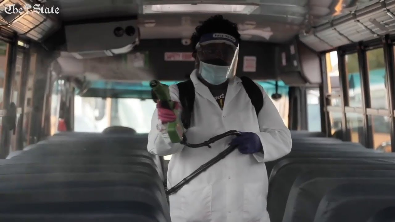 School busses will have enhanced cleaning