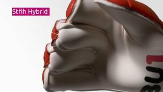 Brankářské rukavice BU1 Red