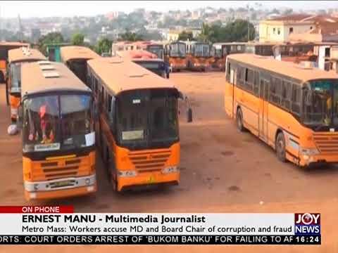 Metro mass corruption and fraud saga - The Pulse on JoyNews (18-4-18)
