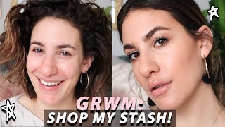 GRWM: SHOPPING MY MAKEUP COLLECTION & Changing Things Up! | Jamie Paige