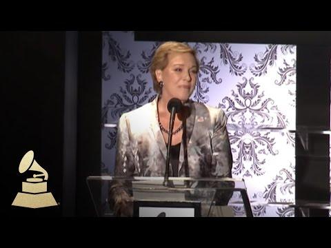 Julie Andrews acceptance speech Special Merit Awards   GRAMMYs