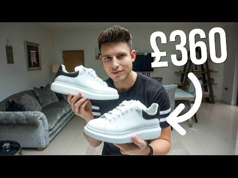 ARE ALEXANDER MCQUEEN SNEAKERS WORTH THE PRICE? | TRY-ON & REVIEW