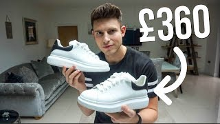 Gambar cover ARE ALEXANDER MCQUEEN SNEAKERS WORTH THE PRICE?   TRY-ON & REVIEW