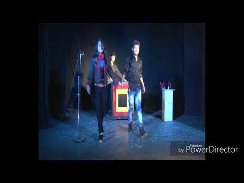 Illusion magic show by Lady illusionist MAHUA//levitation and sword box illusion thumbnail