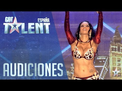 We can't believe it! Her boobs dance... | Auditions 2 | Spain's Got Talent 2016