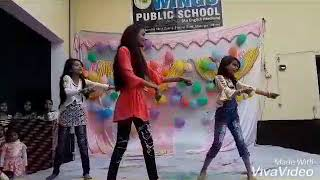 Tare Naal Nachna  by the student of class 7th | WINGS PUBLIC SCHOOL CHANDPUR
