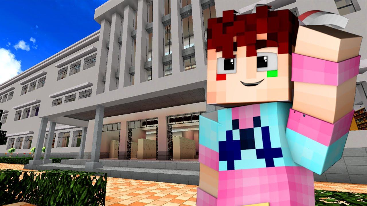 Yandere High School - FAKE KISS! (Minecraft Roleplay) #35 - YouTube