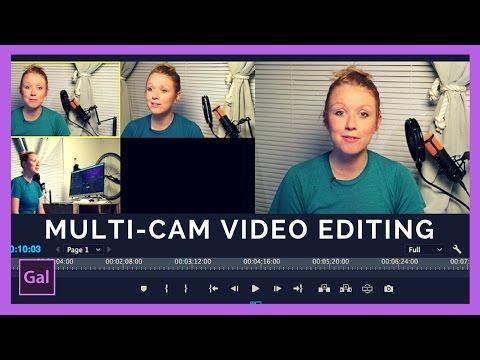 Multi-Camera Editing In Adobe Premiere Pro CC Tutorial