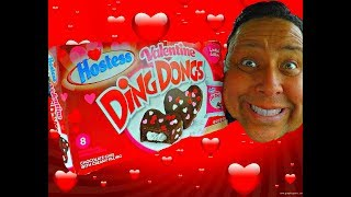 Hostess® Valentine Ding Dongs REVIEW!