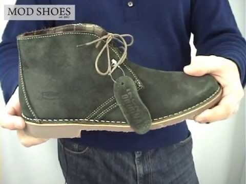 Olive Green Desert Boots - Modshoes