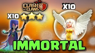 """IMMORTAL QUEEN + WITCH : BEST """"HEALER'S"""" STRATEGY OF ALL TIME 