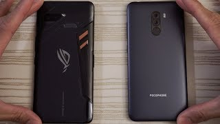 Asus ROG Phone vs Pocophone F1 - Speed Test!