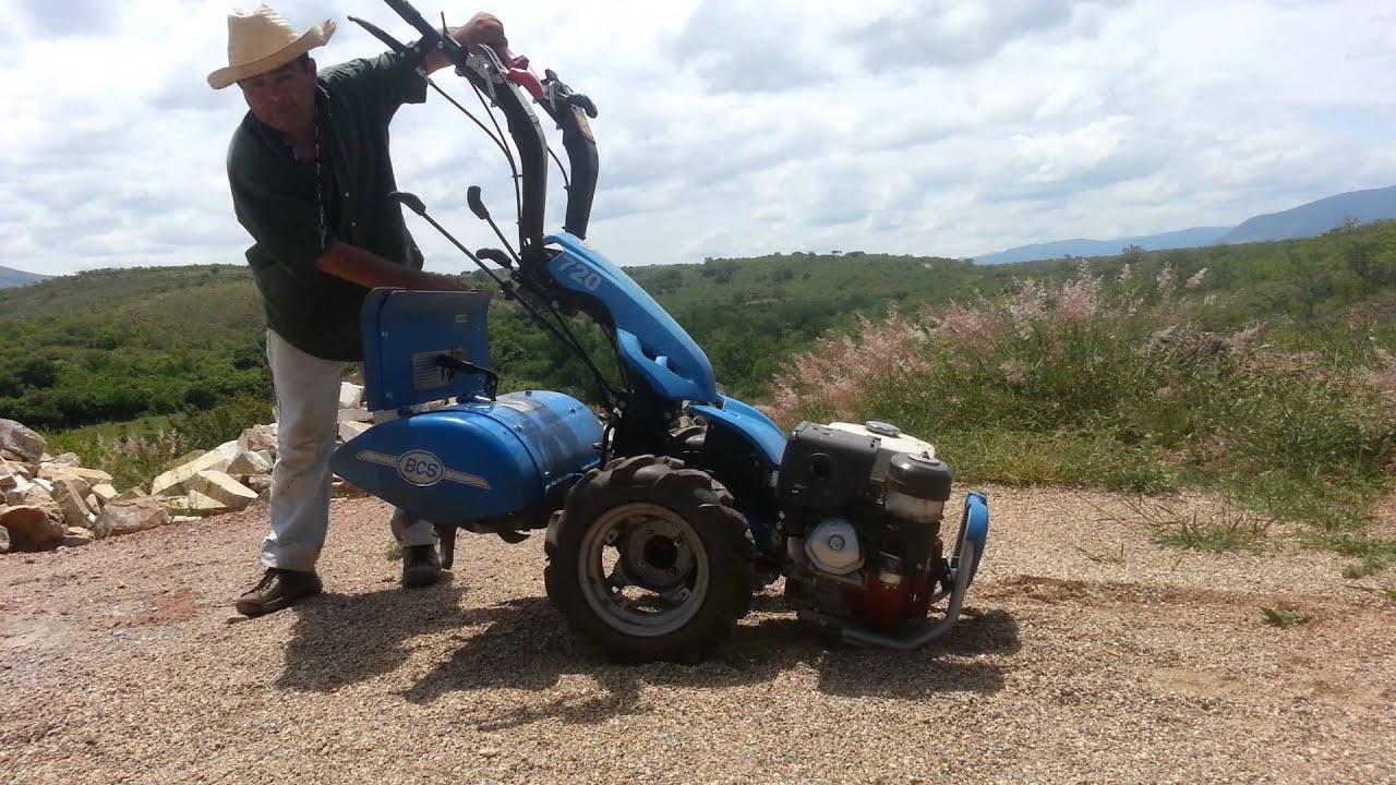 Motocultor bcs 720 youtube for Motocoltivatore bcs 720