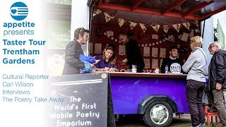 Appetite Cultural Reporter Carl Wilson Interviews The Poetry Take Away ahead of Big Feast 2017