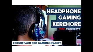 Quick Review Headset Kotion Each G9000 | Headset Gaming Kere Hore