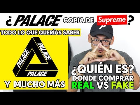 ¿PALACE COPIA DE SUPREME? Mira el video!! | FAKE, DONDE COMP