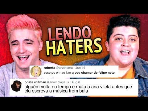 LENDO HATERS QUEM CHOROU? Com Ana Vilela  +13