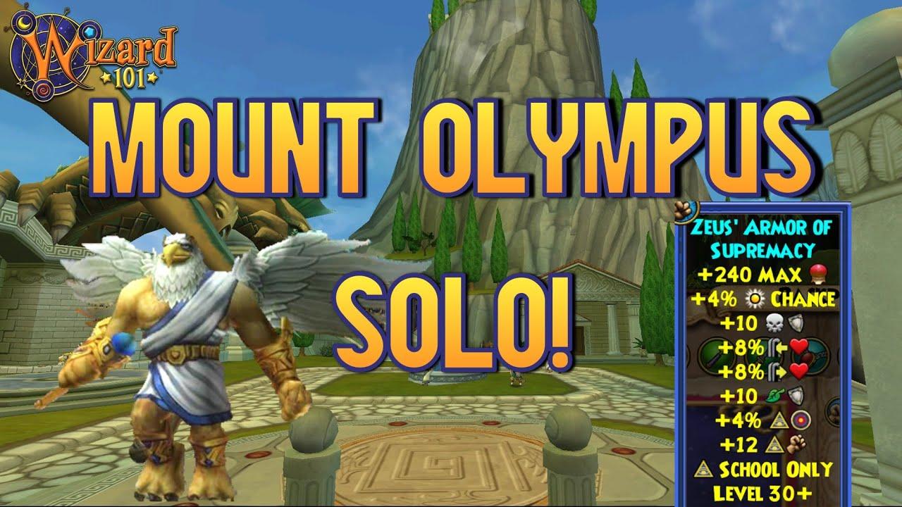 MOUNT OLYMPUS SOLO!