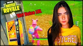 Dirty Girl On Fortnite GONE WRONG! Voice Trolling! (HACKERS EXPOSED!) LIVE FOOTAGE!