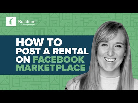 How to Post a Rental on Facebook Marketplace