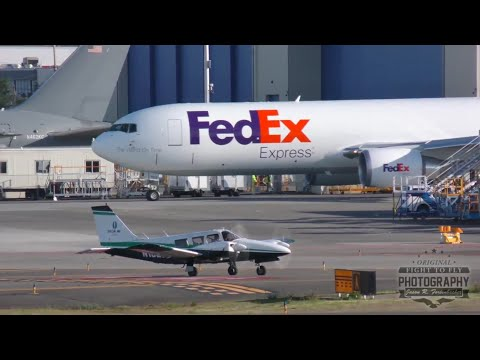 Airplane spotting at Paine Field - Boeing, 747, 777, 737, Citation, Gulfstream