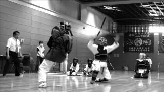 第11回全日本琉球古武道オープン選手権大会で行われた琉球古武道ヌン...