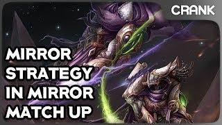Mirror Strategy in Mirror Match Up - Crank's StarCraft 2 Variety!