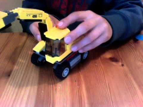 LEGO City mining Transport truck