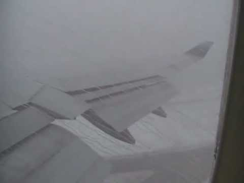 B747 Storm Weather Takeoff (Chicago/KORD)