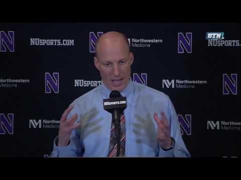 John Groce - Post-Game Press Conference vs. Northwestern