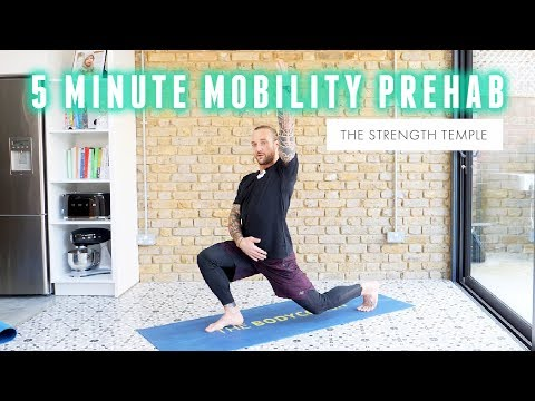 5 Minute Pre-Workout Mobility with The Strength Temple | The Body Coach