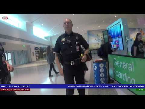 First Amendment Audit - Dallas Love Field Airport