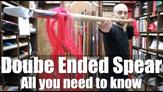 Double Ended Spear Review | All You Need To Know | Enso Martial Arts Shop
