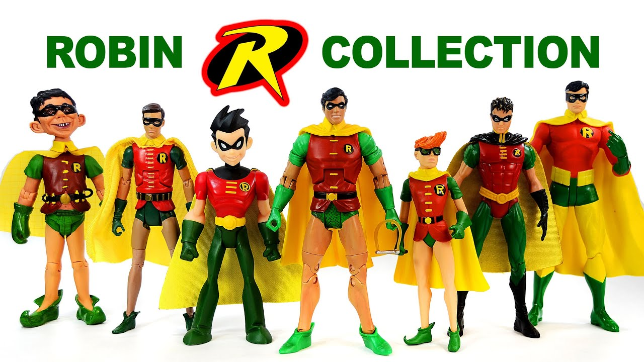 Robin The Boy Wonder Dc Comics Action Figure Collection Youtube