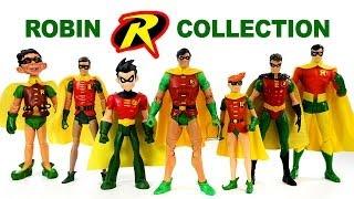 Robin The Boy Wonder DC Comics Action Figure Collection