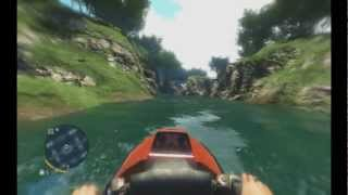 Far Cry 3- Jet Ski + Waterfall = Epic Ramp