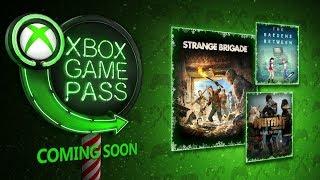 Xbox Game Pass December 2018 Update - Best Month Yet?