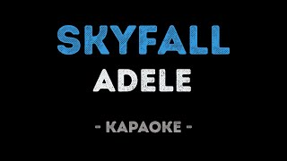 Adele - Skyfall (Karaoke)