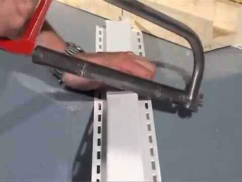 Металлическая подшива из нутри - YouTube