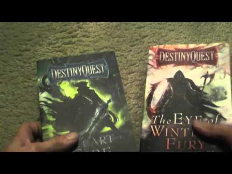 DestinyQuest Gamebooks by Michael J Ward Review