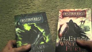 DestinyQuest Gamebooks by Michael J Ward Review