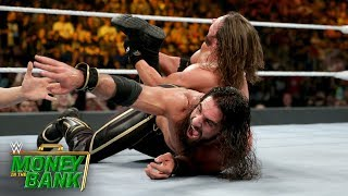 Seth Rollins struggles to keep AJ Styles down: WWE Money in the Bank 2019