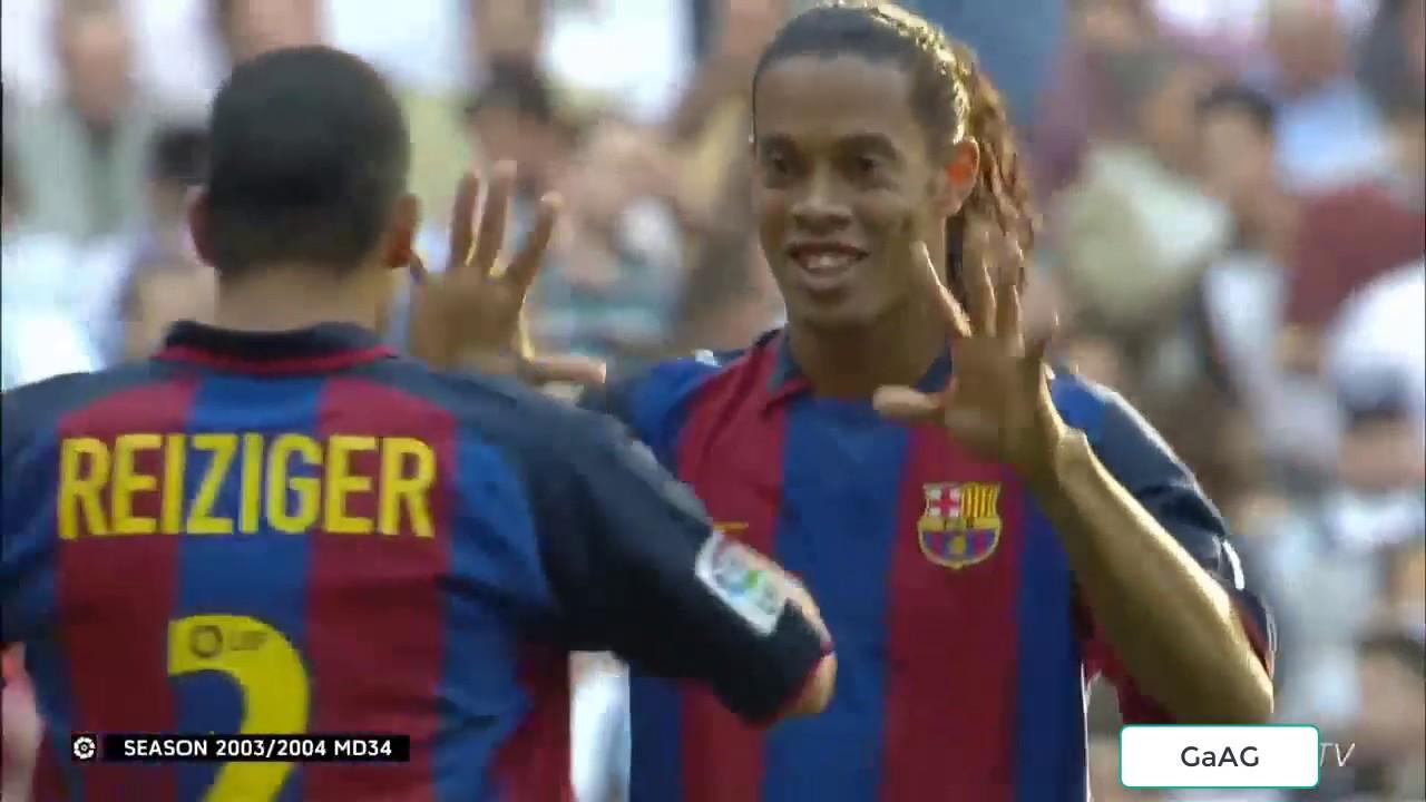 Download Real Madrid vs Barcelona 1-2 Full Match - 25/4/2004 La Liga Classics