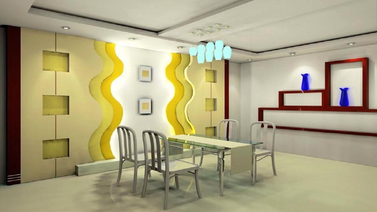 Best Gypsum Board Wall Design Hall Gypsum Wall Interior Design Ideas  YouTube