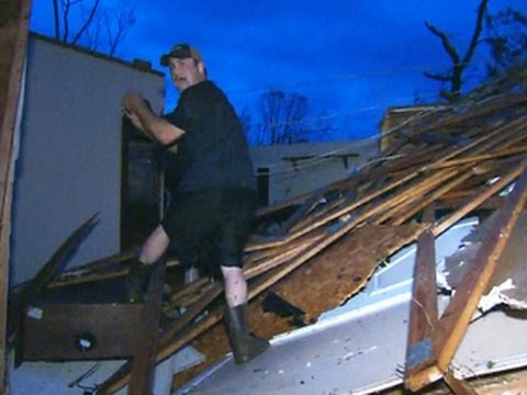 Tornado survivors rush to help first responders