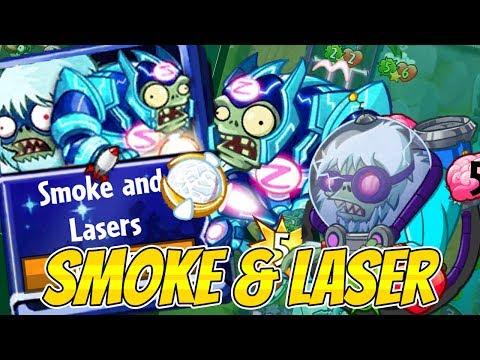 Plants vs Zombies Heroes - Brain Freeze Strategy Deck - Smoke and Lasers - Cryo Yeti & Supernova