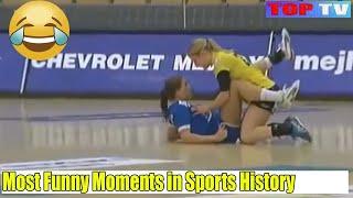 20 FUNNY MOMENTS IN SPORTS history Part 2 | खेळ के सबसे मजेदार सीन्स || Unseen Scenes