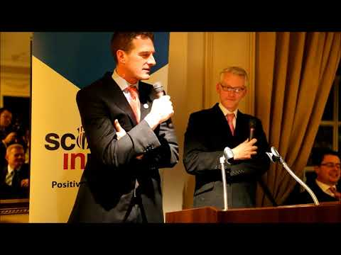 Scotland in Union London Dinner with Dan Snow & Tom Holland