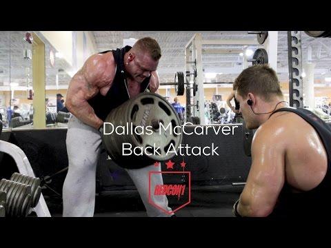 Redcon1  Dallas McCarver's Back Attack!!!
