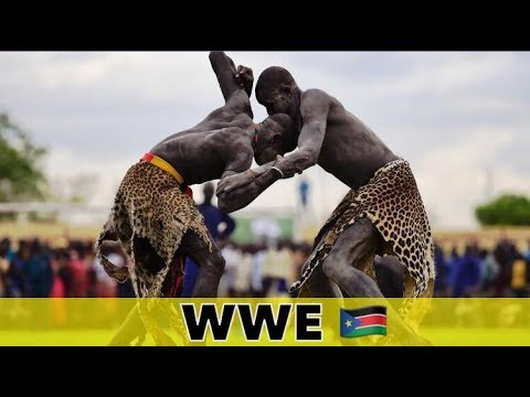 African Wrestling South Sudan 2018